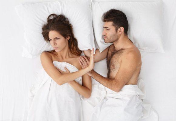 Diverses causes de panne sexuelle dans un couple